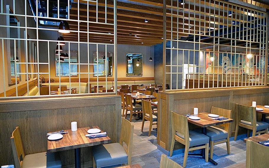 P.F. Chang's in Ramstein has a relaxing decor that puts the diner in the mood for good food and company.