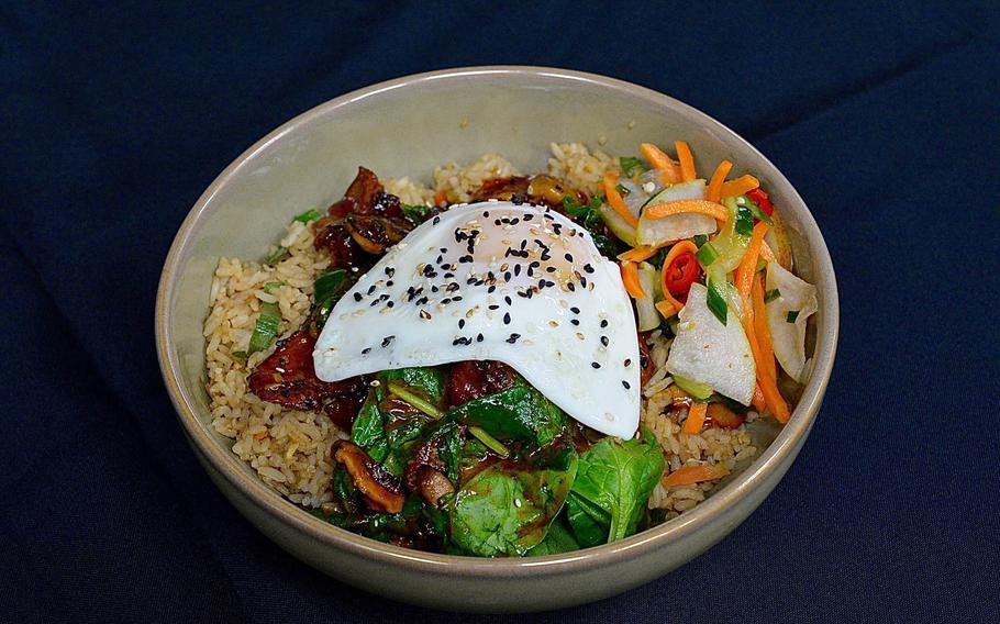 The Korean mainstay bibimbap is among the Asian classics served at P.F. Chang's. If you can't catch a flight to the suburbs of Seoul, catch someone going to Ramstein Air Base for a completely respectable version of this dish.