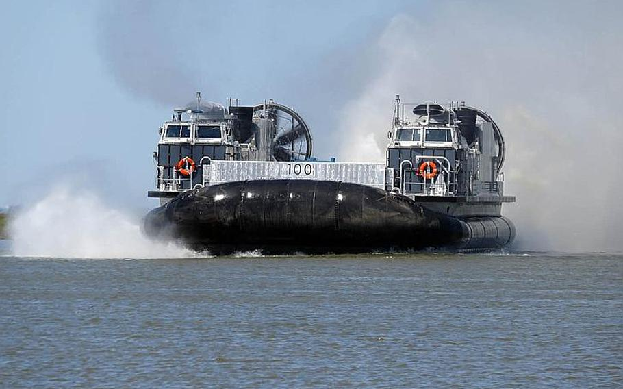 The Ship-to-Shore Connector is a modernized hovercraft slated to replace the Navy's legacy Landing Craft Air Cushion.