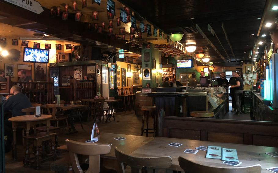 Murphy's Law Irish Pub, located outside the train station in Mannheim, Germany offers a wide variety of tastes in their dishes and their spirits.