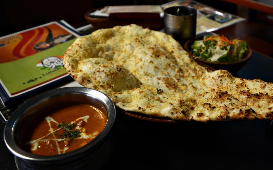 Dana Chula offers a wide selection of traditional Indian fare, such as mutton curry and chicken tikka, as well as some Japanese-inspired dishes.