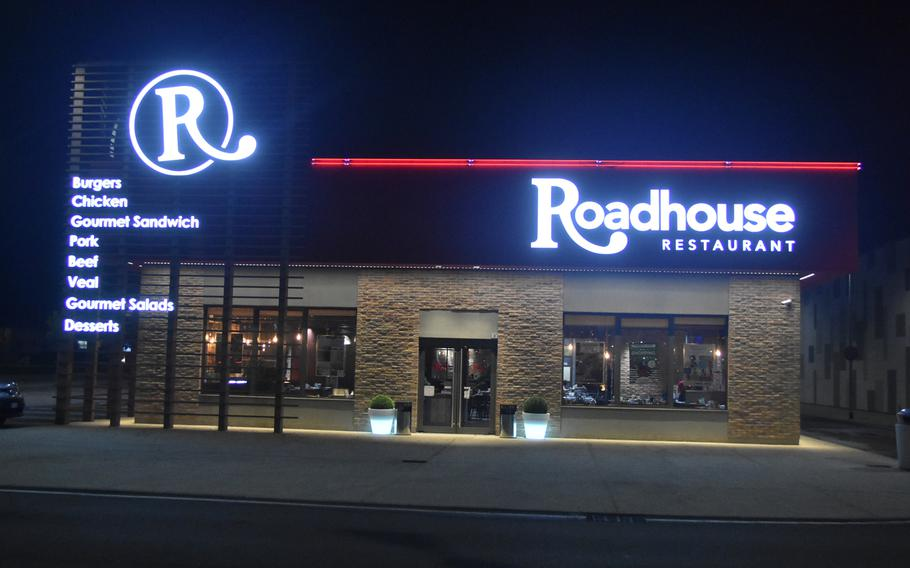 The Roadhouse restaurant in Conegliano, Italy, is located in a shopping center off the SS-13, about a half hour's drive from Aviano Air Base.
