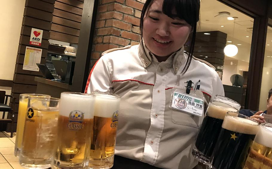"""At the Sapporo Beer Garden, you can order stein after stein of the famous brand's beverages and even try """"Sapporo Classic"""" – a draft that's only available on Hokkaido."""