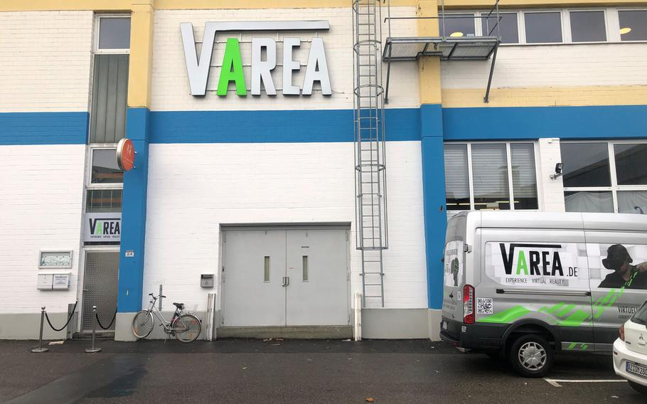 VArea is a virtual reality studio in Mainz, Germany, that offers VR experiences for 13 euros per 30 minutes.