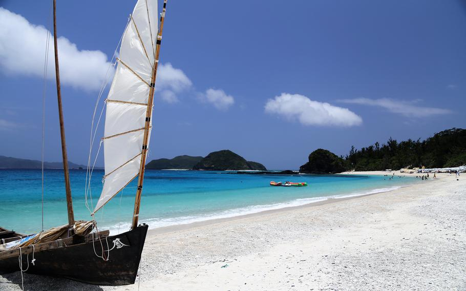 Furuzamami Beach was voted the best beach in Japan on TripAdvisor and has two stars from the renowned Michelin Guide.