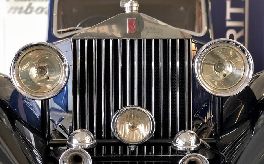 A Rolls Royce 20 HP at Klassikstadt in Frankfurt, Germany.