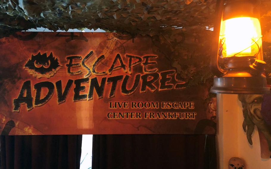 Escape Adventures, based in Frankfurt, was created by Yoda Zhang, a game designer with more than 30 years of experience.
