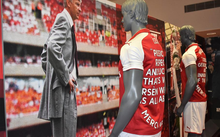 The self-guided, electronics-assisted tour of Emirates Stadium in London immerses visitors in the imagery and history of Arsenal, the Premier League soccer team that calls it home.