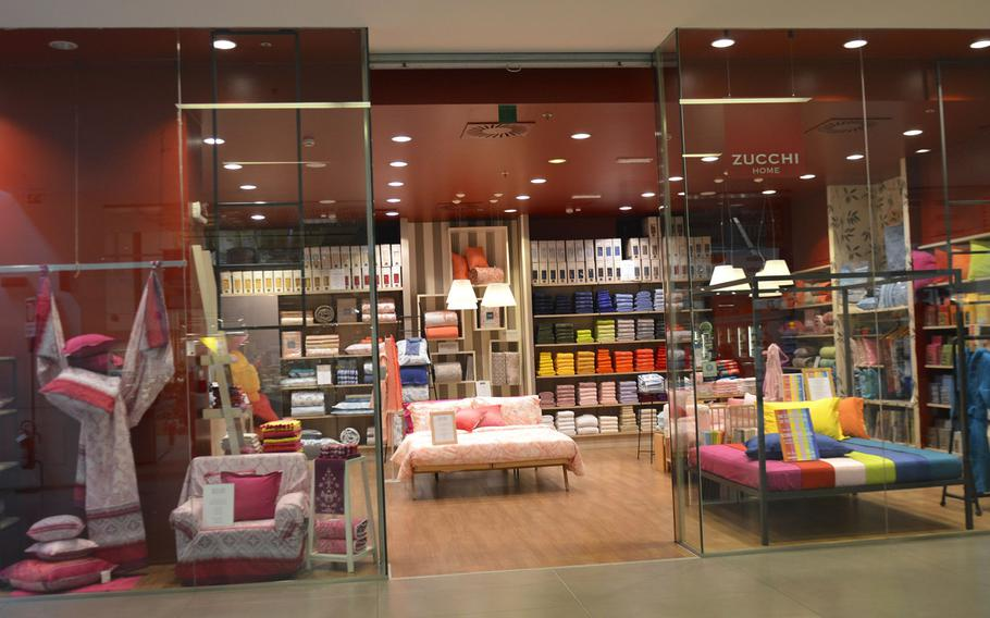 Zucchi Home is a household goods store located inside the Cone shopping center, right off route SS13 in Conegliano, Italy.