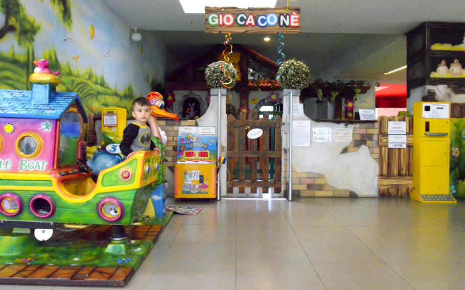 Gio Cacone is a child care center located inside the Cone shopping center. The child care center provides busy parents with an option to let their kids play while they do their shopping.