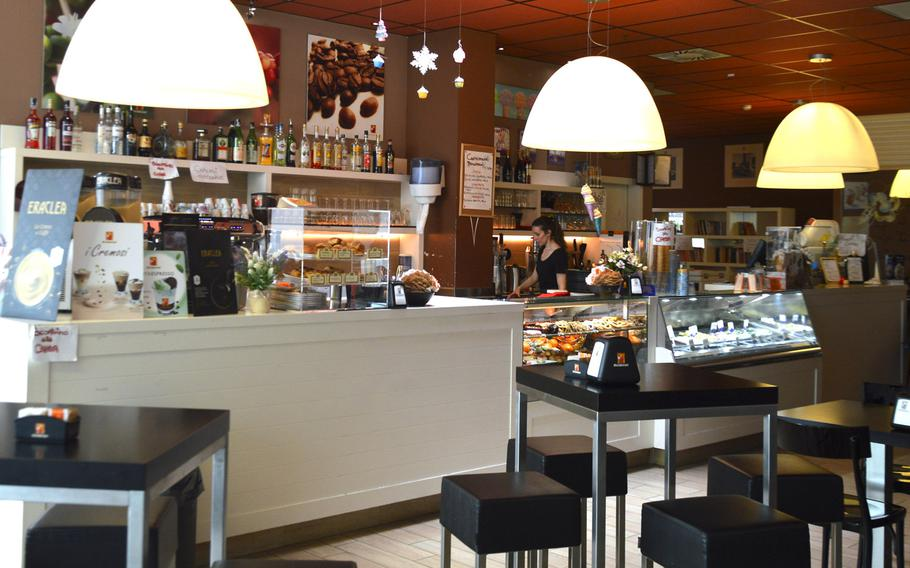 Gelateria is an ice cream shop and coffee bar located inside the Cone shopping center in Conegliano, Italy. The shop is one of five food establshments located in the second floor of the mall.