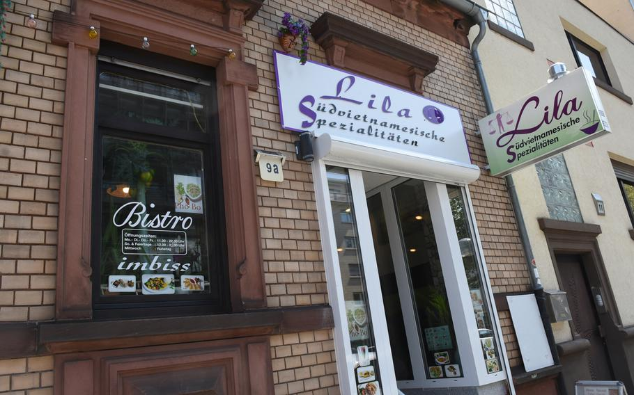 Lila South Vietnamese Specialties opened in October 2015, specializing in home-cooked, authentic southern Vietnamese dishes. The bistro is down the street from the K in Lautern mall in Kaiserslautern, Germany.
