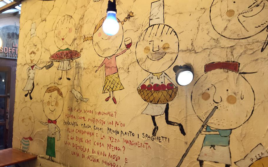 Pizzeria La Soffitta is a 5-minute walk from Shibuya Station in central Tokyo.