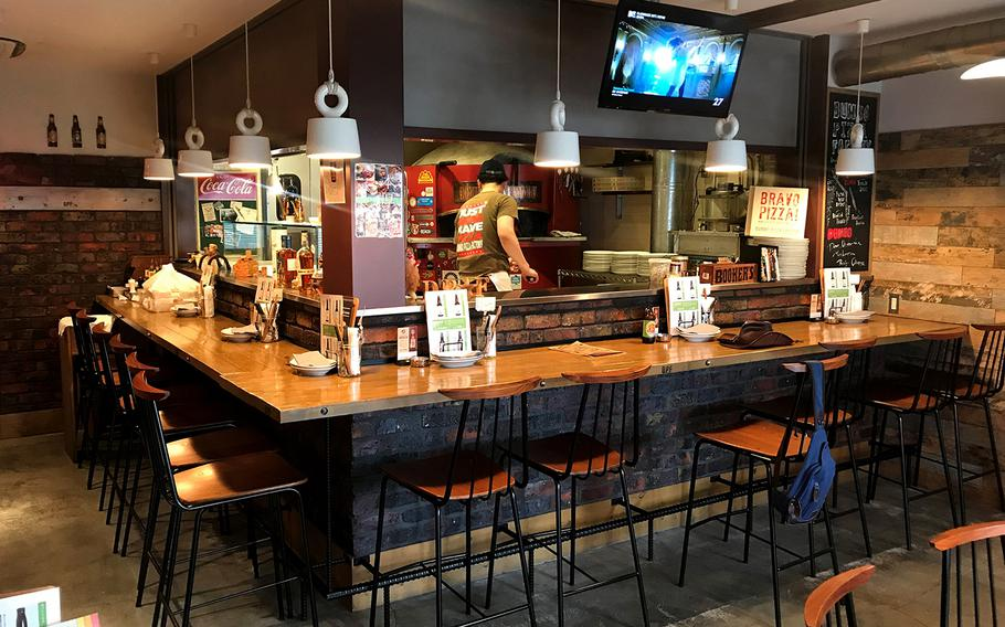 The pizza at Dumbo Pizza Factory in Atsugi, Japan, is easily its best feature, but the location and open-air, patio-style seating combined with good beer makes this place truly special.