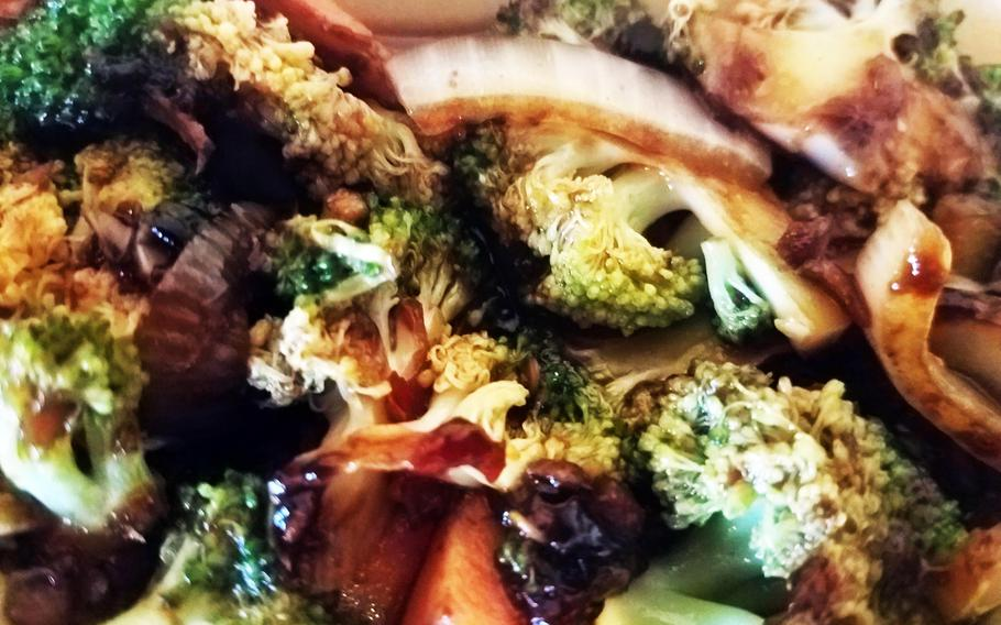 Broccoli from The Chinese in Grafenwoehr, Germany.
