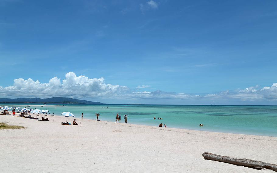 The white sand beaches of Taketomi Island are among the most popular tourist destinations in Japan.
