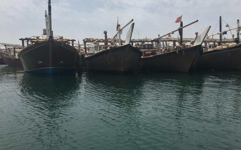 A view from Sitra Fisherman Port awaiting transit to Al Dar Island.