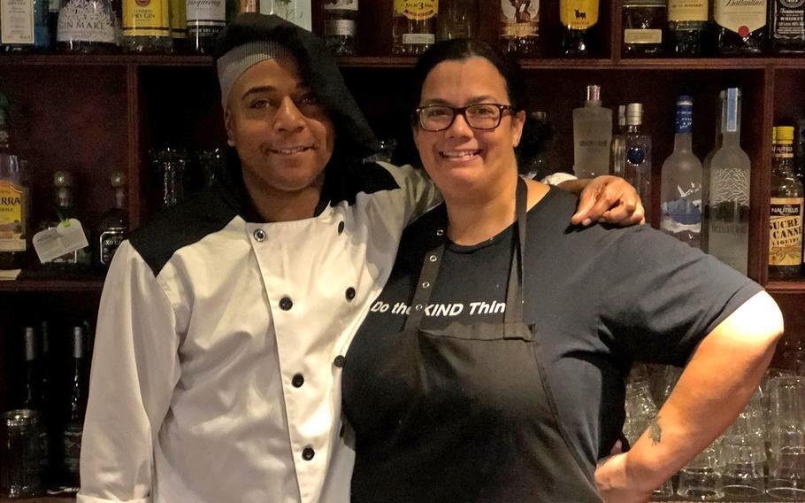 Shawn Davis and Melissa Jewell opened The Alamo Tex Mex Restaurant and Sports Bar on Nov. 7, 2019.