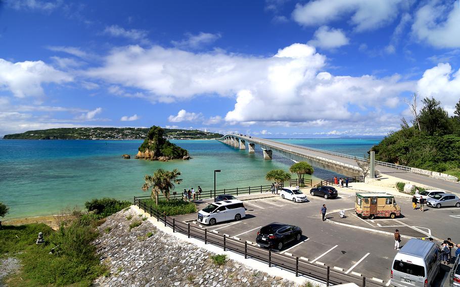 Kouri Island, Okinawa, is famous for its beautiful water and heart-shaped rock.