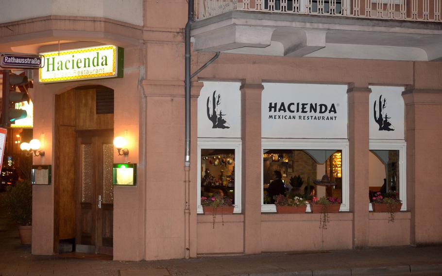 The Hacienda Mexican Restaurant in Wiesbaden, Germany.