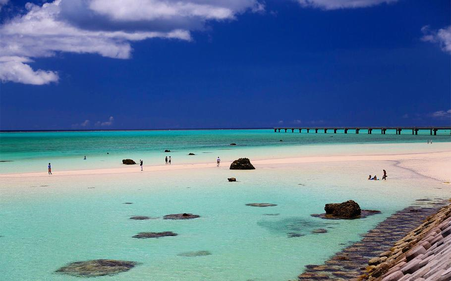 Visiting the beautiful beaches of the Miyako Islands are a must while stationed on Okinawa or in Japan.