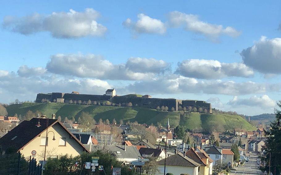 The Citadel of Bitche towers over the center of the town. This year Bitche will celebrate the 150th anniversary of the Franco-Prussian war in which the fortress endured a 220-day Prussian siege.