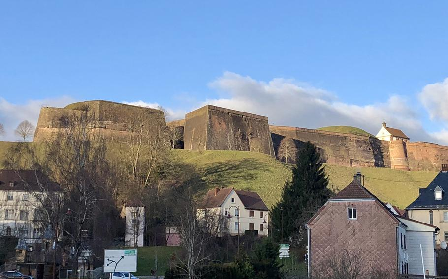 Another view of the massive Citadel that formed a key element of the defense of eastern France in the 19th century.