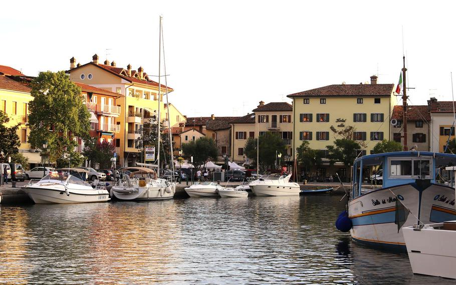 The center of Grado, Italy, looks out over a peaceful marina. An island in the lagoon between Venice and Trieste, Grado's mix of Venetian flair and elegance, family-friendly beaches and numerous eateries and gelaterias -- plus the fact that it's a pleasant 90-minute drive from Aviano -- make it a must-visit for anyone in northern Italy.