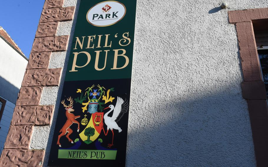 Neil's Pub is the new name for the former Mack Du's in Mackenbach, Germany. Neil Burton and his family took over the pub about a year ago.