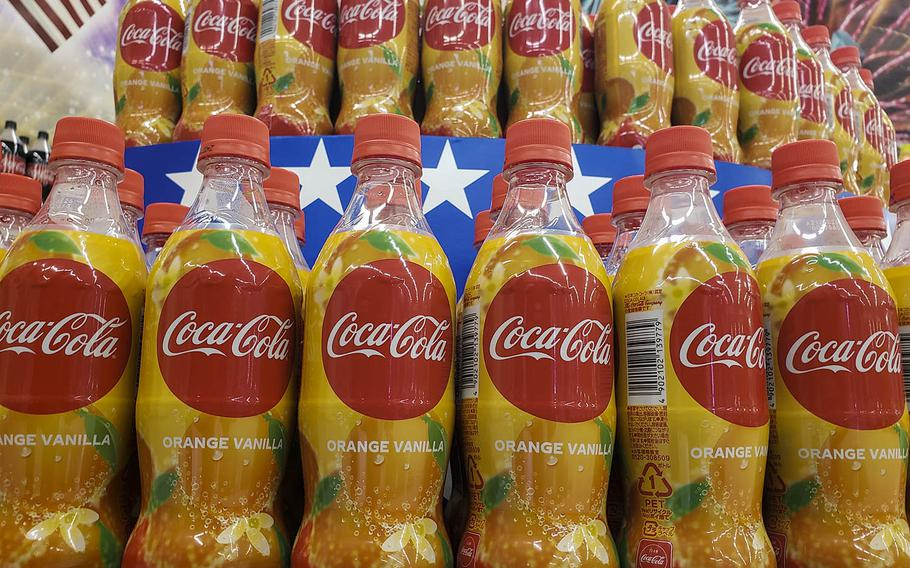 Coca-Cola introduced its Orange Vanilla flavor to customers in Japan on Monday, June 15, 2020.