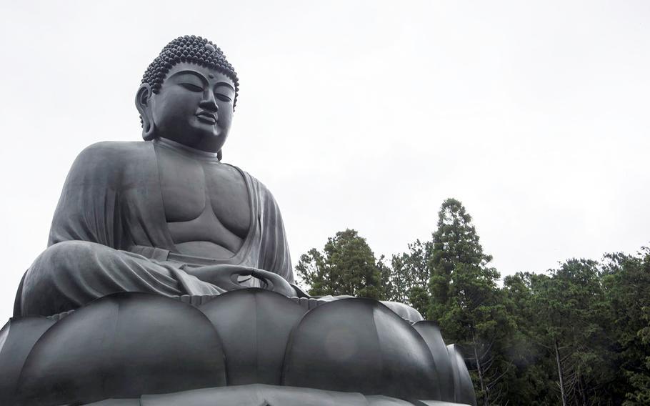 The Rokuya Daibutsu at Hokoji in Hinode, Japan, sits about three feet taller than its more famous counterpart in Kamakura.