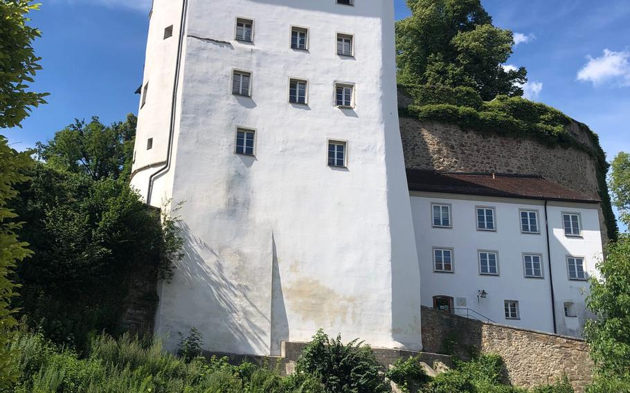 One of the towers of the Veste Oberhaus fortress, where the military museum displays weapons, uniforms and other artifacts dating from the Middle Ages to the Napoleonic wars. It is currently closed due to the COVID-19 epidemic.