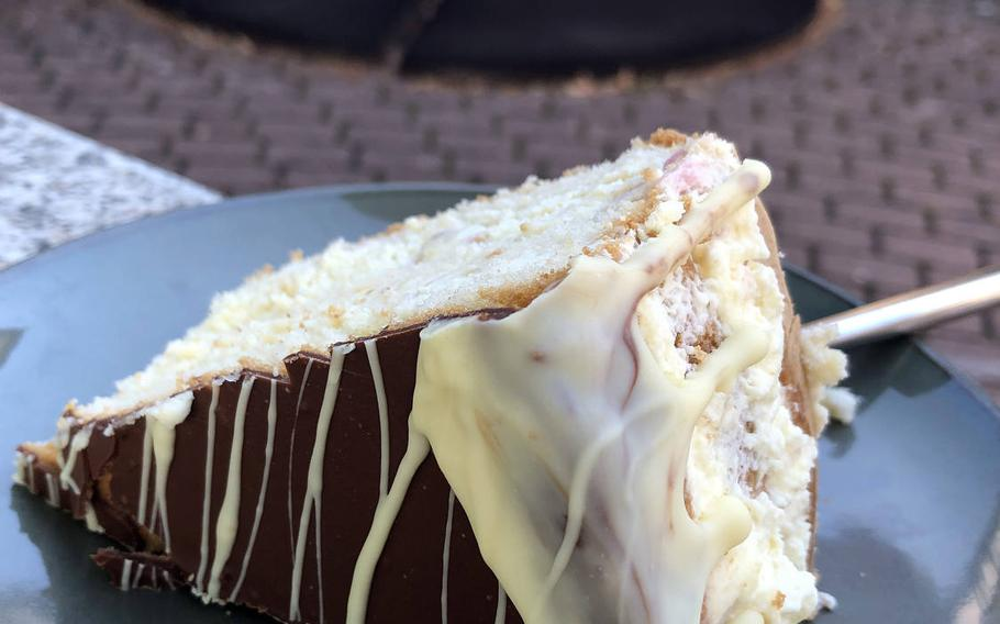ZeitLos Cafe and Bistro in Rodenbach, Germany, offers various selections of homemade cakes.