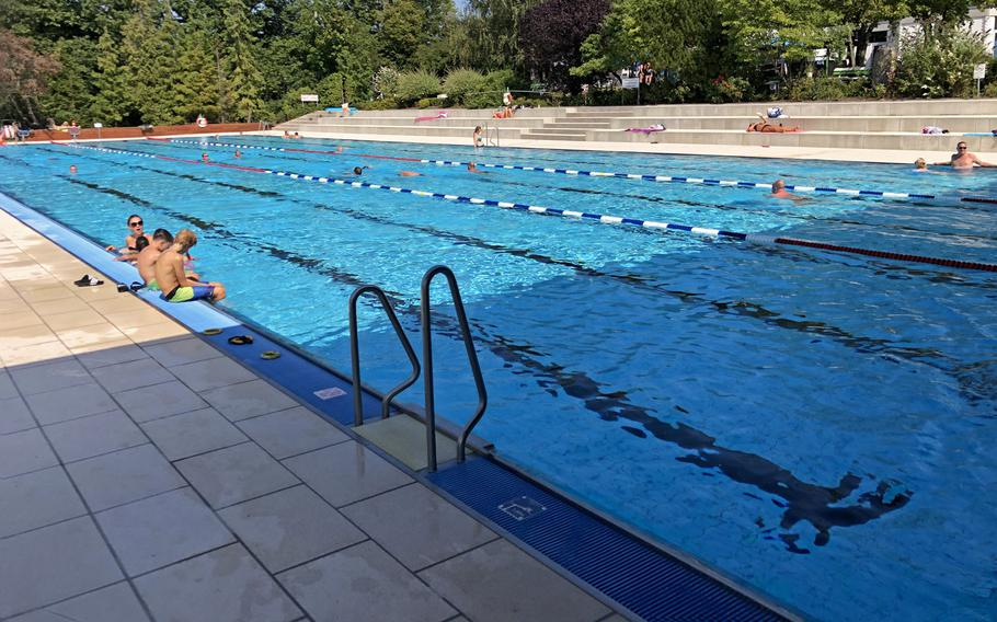 There is a dedicated lap pool for those looking to swim at the Trippstadt pool in Germany.