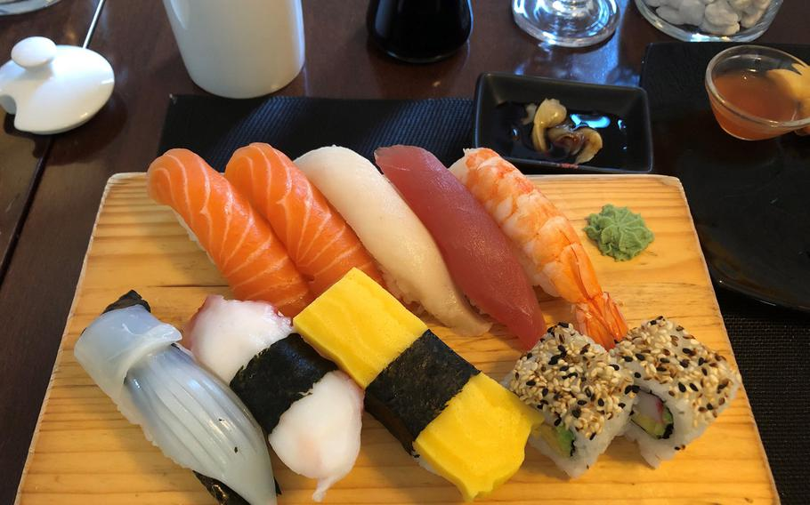Oishi Sushi, in Stuttgart's Feuerbach section, offers both inside and outside seating. Perhaps lesser known than some other sushi spots, regulars say it offers some of the best sushi in the city.