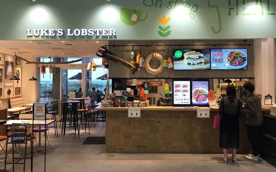Luke's Lobster, a New York City-based seafood chain, opened at the new Iias Okinawa Toyosaki mall in southern Okinawa in June 2020.