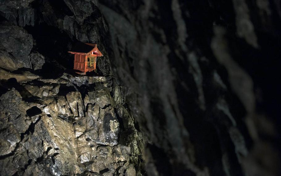 Nippara Limestone Cave near Okutama, Japan, is the largest of its kind in the Kanto region.