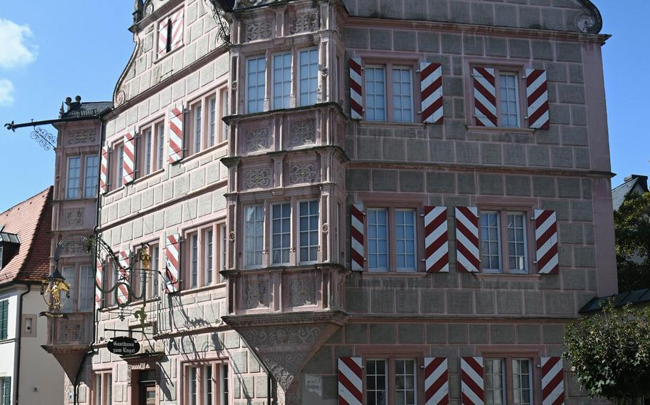 The Gasthaus zum Engel, a Renaissance building in Bad Bergzabern, Germany, built in 1579. It was once used as ducal administrative offices, it now houses the city museum.