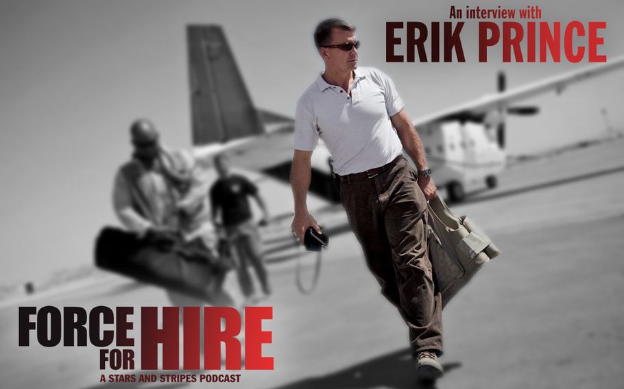 Erik Prince, Navy SEAL, co-founder of Blackwater and current executive director at private security firm Frontier Services Group, sat down for a in interview with Stars and Stripes in which he talks about his vision for the war in Afghanistan.