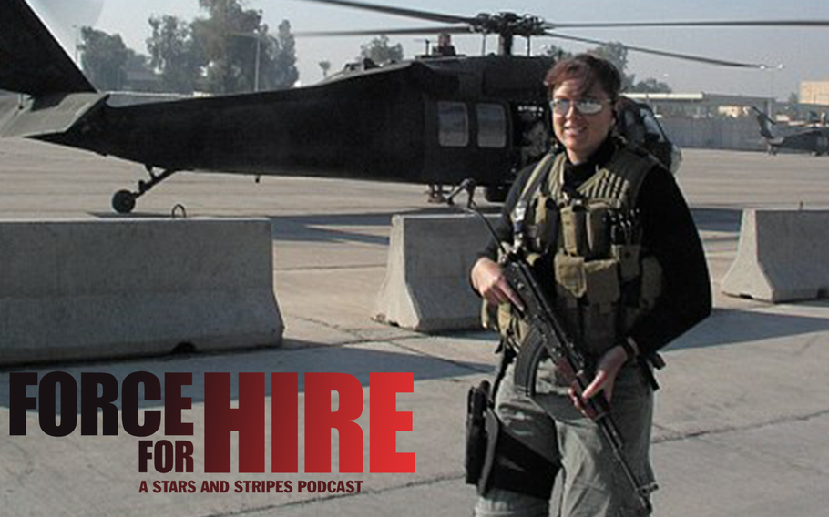 In this episode, Neryl Joyce talks about her experiences working with two military contracting firms, her time in Iraq and what it was like being a woman in the private military contracting world.