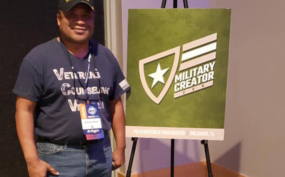 Ellsworth Williams, founder of Veterans Counseling Veterans