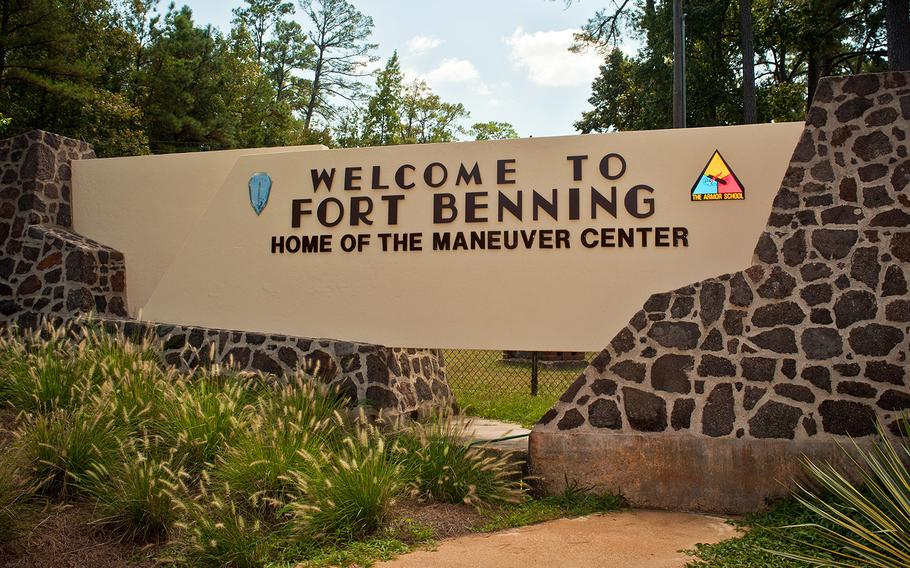 Fort Benning, Ga., is one of 10 U.S. Army installations named for Confederate generals.