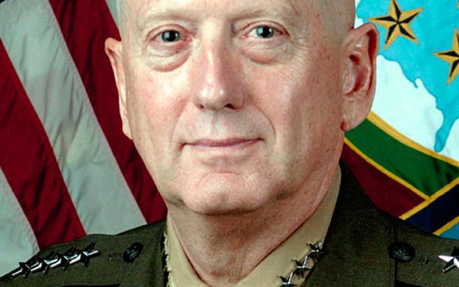 Marine Gen. James Mattis