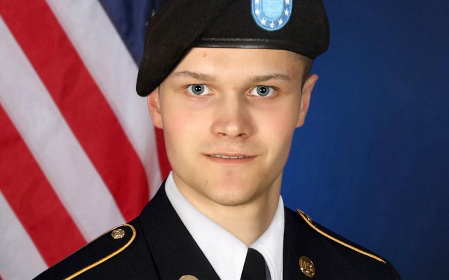 Spc. Maxwell Hockin was found dead behind his company barracks at Fort Hood on Oct. 9, 2021.
