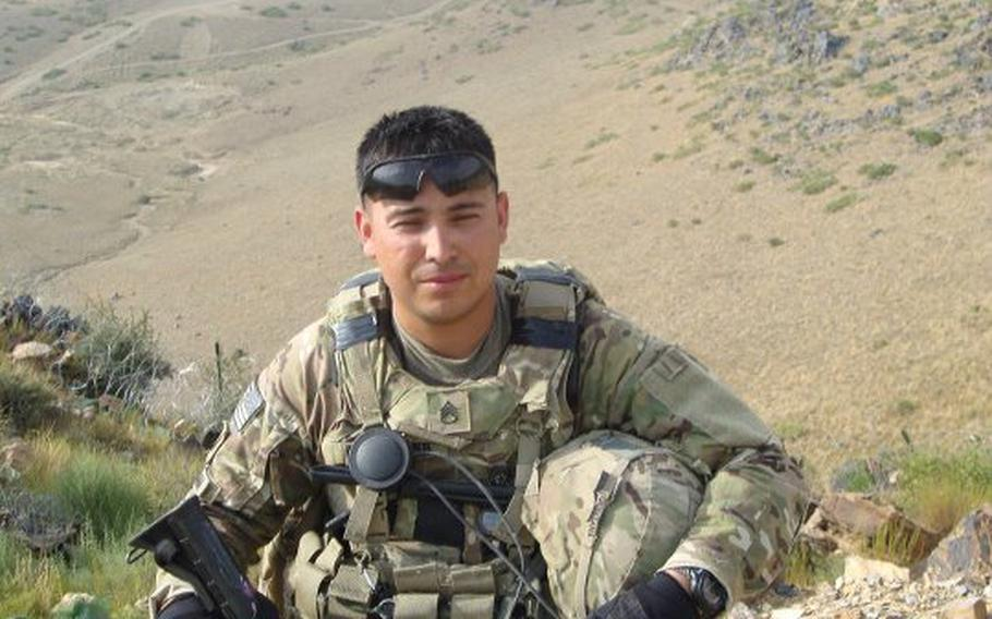 Staff Sgt. Daniel A. Quintana is shown in a photo posted on the official Facebook page of the 172nd Separate Infantry Brigade. Quintana, with the brigade's 2nd Battalion, 28th Infantry Regiment, was killed Saturday when his unit came under small arms fire in Afghanistan's Paktika province.