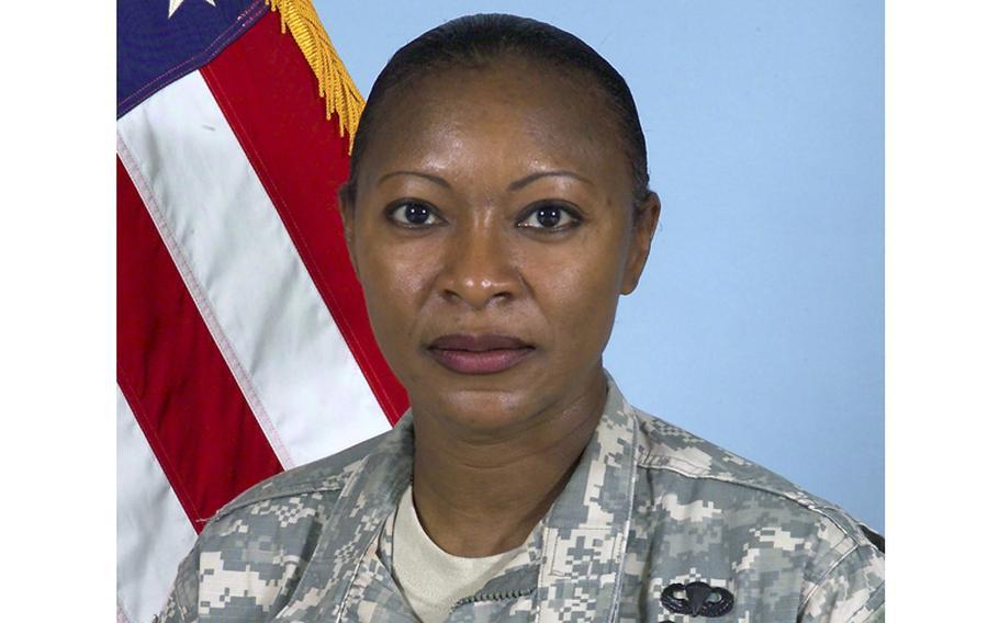 Command Sgt. Maj. Teresa King.