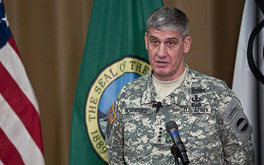 Army Gen. David Rodriguez is President Barack Obama's nominee to head the U.S. Africa Command.