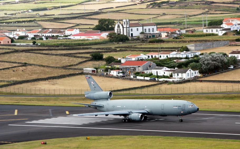 The 65th Air Base Wing is the American unit stationed at Lajes Field, Terceira Island, Azores, Portugal. The wing provides base and en route support for Department of Defense, allied nations and other authorized aircraft in transit.