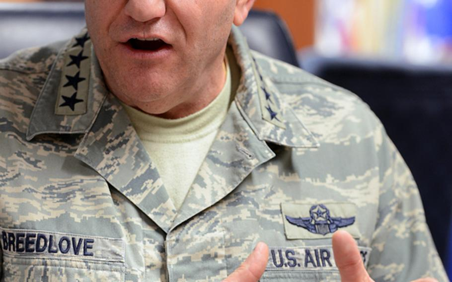 Gen. Philip Breedlove, U.S. Air Forces in Europe and Air Forces Africa commander, is the nominee to become the next NATO supreme allied commander and the head of U.S. European Command.