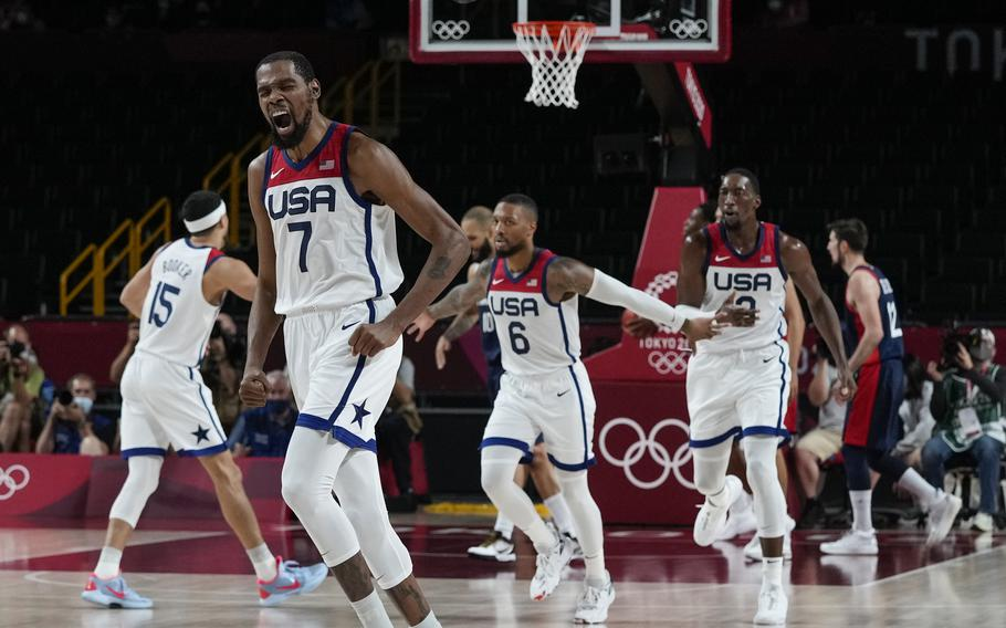 Kevin Durant helped lead the United States to another gold medal.
